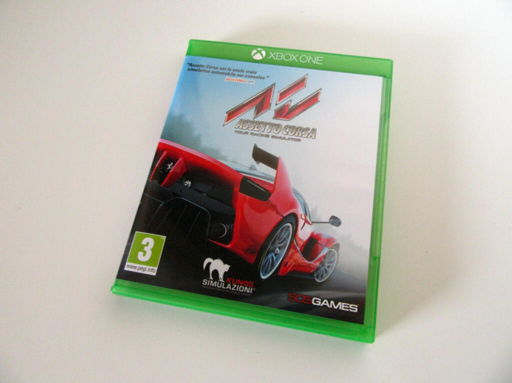 assetto corsa xbox one acheter vendre sur r f rence gaming. Black Bedroom Furniture Sets. Home Design Ideas