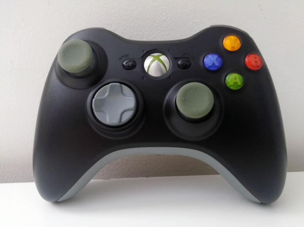 manette sans fil noire xbox 360 acheter vendre sur r f rence gaming. Black Bedroom Furniture Sets. Home Design Ideas