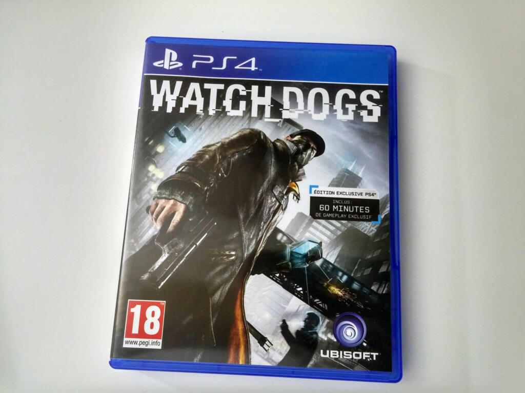 watch dogs ps4 acheter vendre sur r f rence gaming. Black Bedroom Furniture Sets. Home Design Ideas