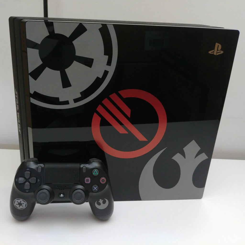 console ps4 pro star wars battlefront ii dition limit e 1 to acheter vendre sur r f rence. Black Bedroom Furniture Sets. Home Design Ideas