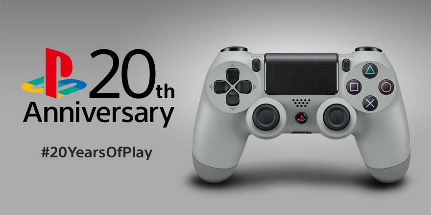 Image de la Manette DualShock 4 édition 20ème anniversaire pour PS4