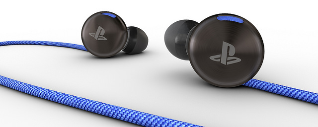 Casque intra-auriculaire + Micro - Playstation 4