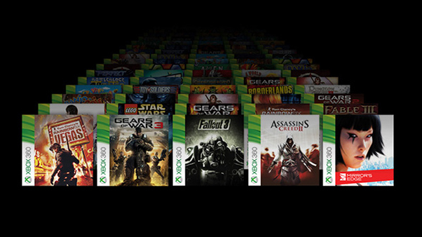 Retrocompatibilité Xbox one S
