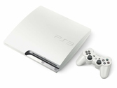 Console PS3 Slim 320 Go blanc + 1 Manette Dual Shock 3