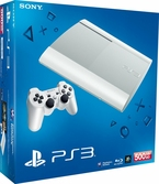 Console PS3 Ultra Slim 500 Go blanc