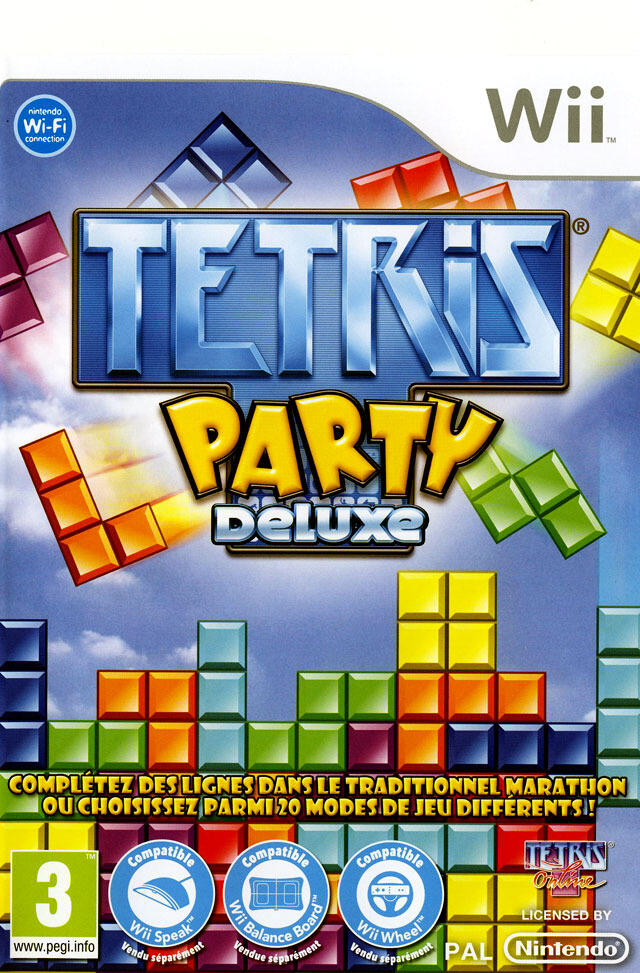 tetris party deluxe wii acheter vendre sur r f rence. Black Bedroom Furniture Sets. Home Design Ideas