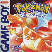 Pokémon version Rouge - Game boy