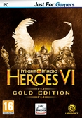 Heroes of Might & Magic VI édition Gold Just For Gamers - PC