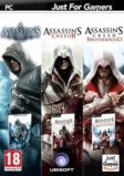 Assassin's Creed + Assassin's Creed 2 + AC : Brotherhood - PC