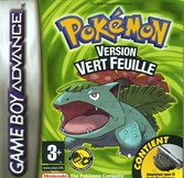 Pokemon Version Vert Feuille - Game Boy Advance