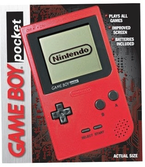 Console Game Boy Pocket Rouge