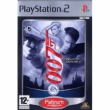 James Bond 007 Quitte ou Double édition Platinum - Playstation 2