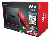 Console Wii Mini Rouge + Mario Kart
