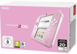 Console Nintendo 2DS rose & blanc