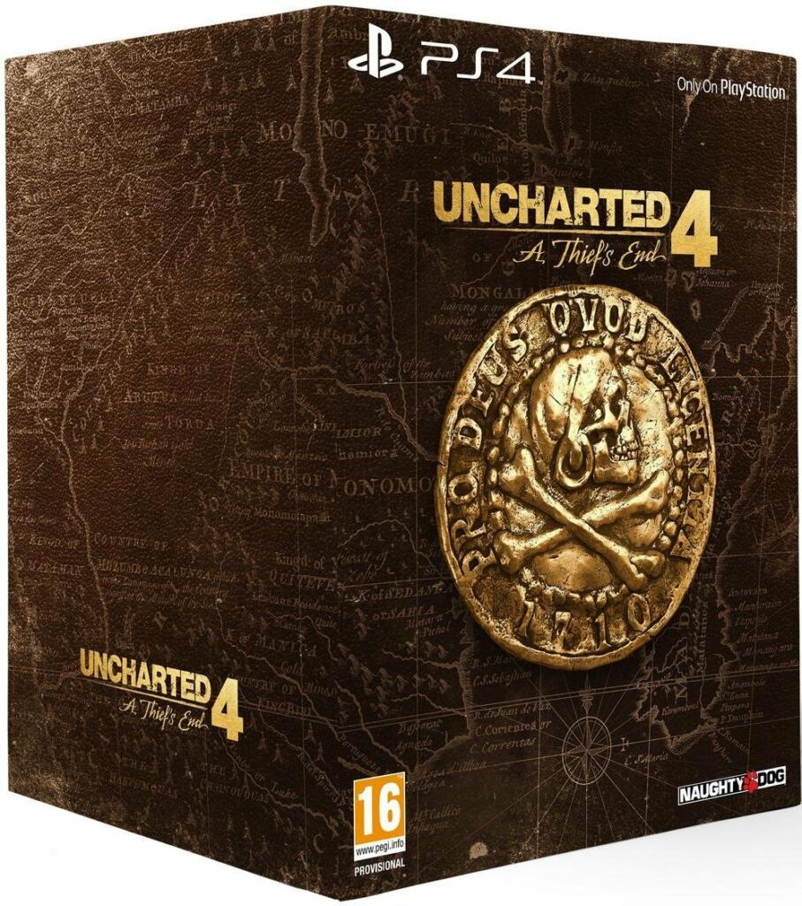 Uncharted 4 A Thief's End édition Collector