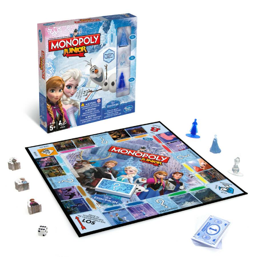 monopoly junior reine des neiges acheter vendre sur r f rence gaming. Black Bedroom Furniture Sets. Home Design Ideas