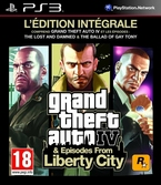 GTA IV Episodes from Liberty City édition intégrale - PS3