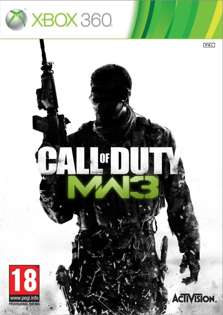 call of duty modern warfare 3 xbox 360 acheter vendre sur r f rence gaming. Black Bedroom Furniture Sets. Home Design Ideas