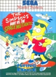 The Simpsons : Bart vs the Space Mutants - Master System