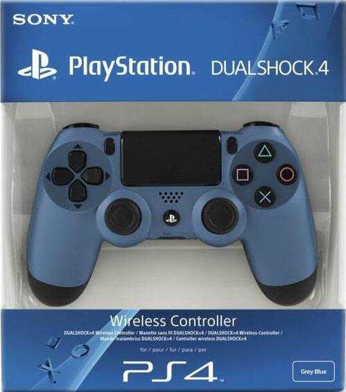 manette dualshock 4 gris bleut ps4 acheter vendre sur r f rence gaming. Black Bedroom Furniture Sets. Home Design Ideas