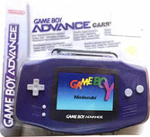 Mallette de Transport violette Game Boy Advance