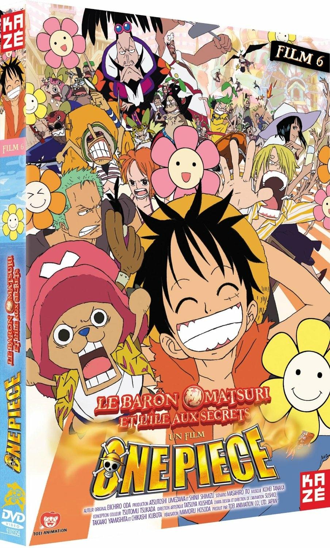 One Piece film 6 : Le Baron Omatsuri et l'île aux secrets - DVD : Référence Gaming