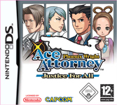 Phoenix Wright Ace Attorney : Justice For All - DS