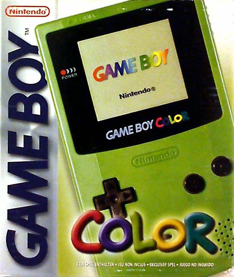 game boy color vert acheter vendre sur r f rence gaming
