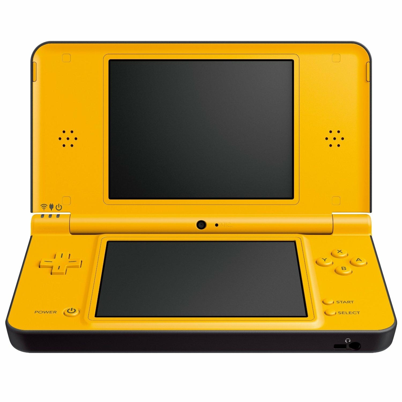 fiche produit console nintendo dsi xl jaune ds