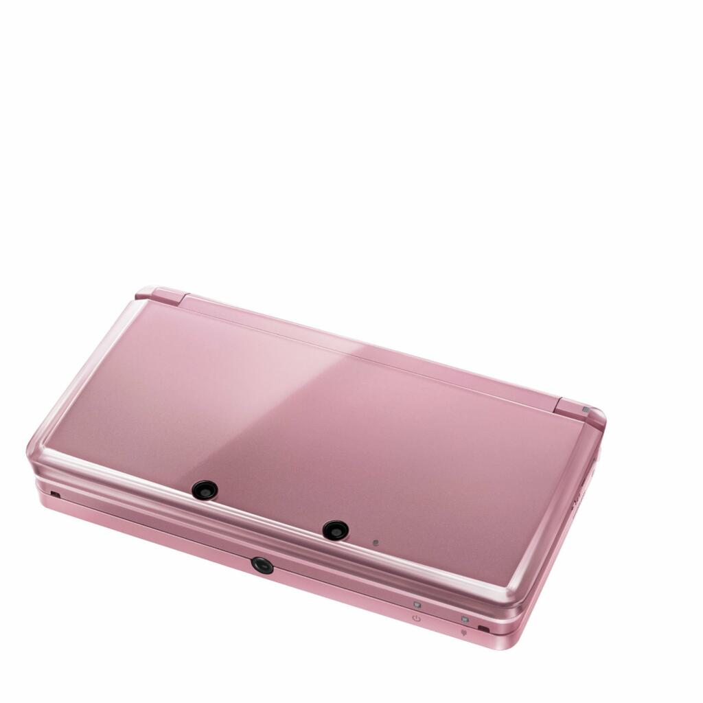 console nintendo 3ds rose corail 3ds acheter vendre. Black Bedroom Furniture Sets. Home Design Ideas