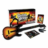 Guitar Hero : World Tour + Guitare - PlayStation 2