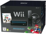 Console Wii Noire - pack Mario Kart