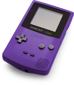 Game Boy Color violet
