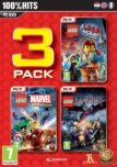 LEGO Pack 3 Vol 2 : LEGO Le Hobbit + LEGO Marvel + LEGO Movie - PC