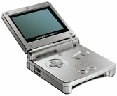Game Boy Advance SP Silver (Gris Agenté)