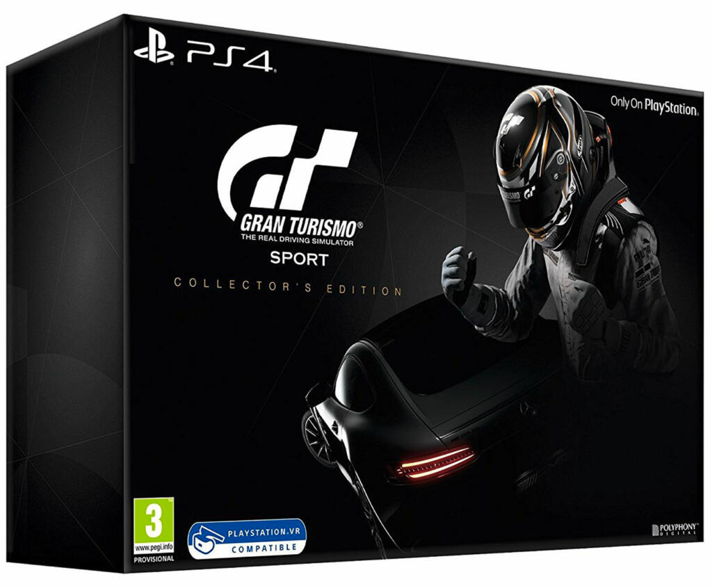 gran turismo sport dition collector ps4 acheter vendre sur r f rence gaming. Black Bedroom Furniture Sets. Home Design Ideas