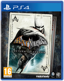 Batman Return To Arkham - PS4