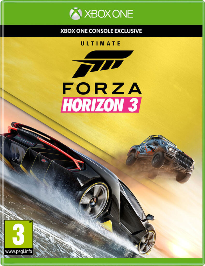 forza horizon 3 dition ultime xbox one acheter vendre sur r f rence gaming. Black Bedroom Furniture Sets. Home Design Ideas
