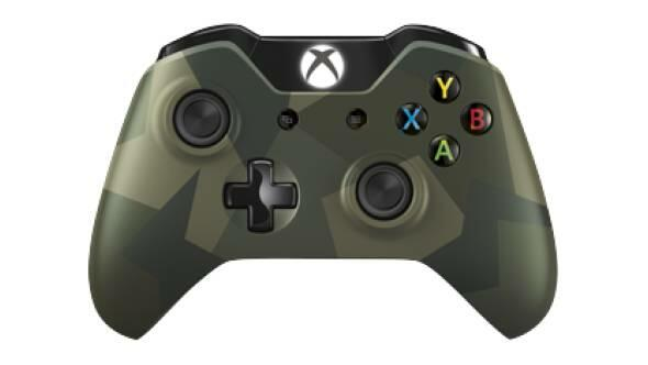 manette sans fil camouflage dition armed forces xbox one acheter vendre sur r f rence gaming. Black Bedroom Furniture Sets. Home Design Ideas