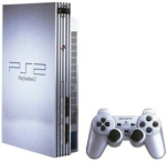 Console PlayStation 2 FAT Argent (Silver)