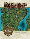 Pathfinder Chronicles - Curse Of The Crimson Throne Map Folio