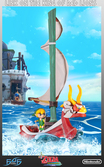 Statue The Legend Of Zelda : The Windwaker Link sur le Lion Rouge
