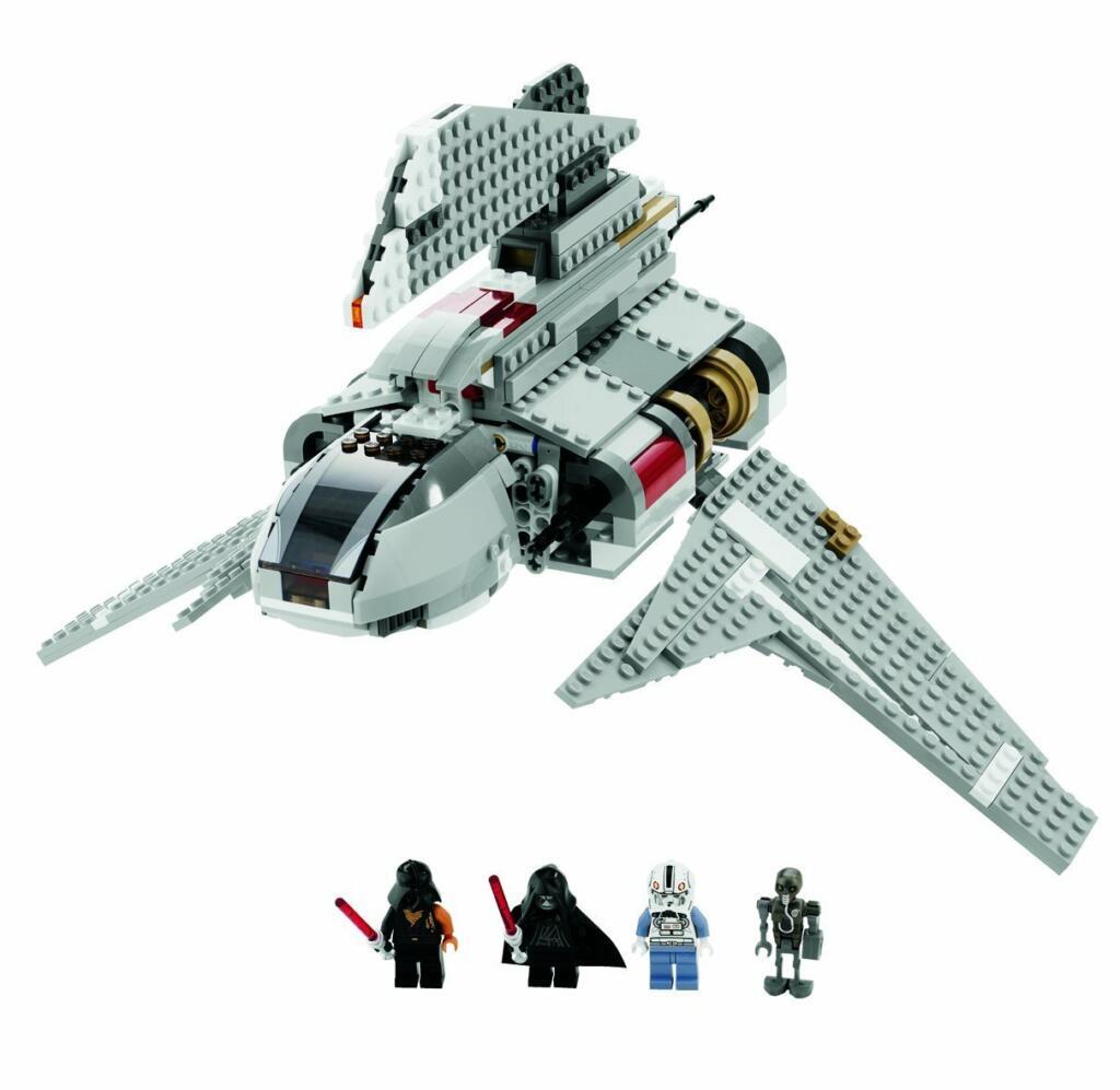 Lego star wars vaisseau de l 39 empereur palpatine 8096 acheter vendre sur r f rence gaming - Vaisseau de dark vador ...