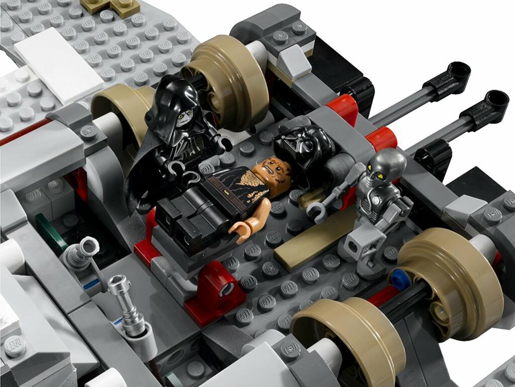 lego star wars vaisseau de lempereur palpatine 8096 - Lego Star Wars Vaisseau Clone