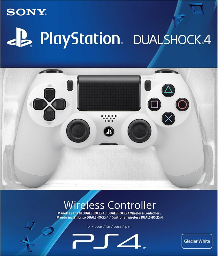 manette dualshock 4 blanche ps4 acheter vendre sur r f rence gaming. Black Bedroom Furniture Sets. Home Design Ideas