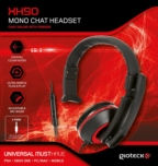 Casque Mono Gioteck XH50 Rouge - Xbox One - PS4 - PC - Mobile