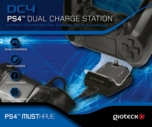 Double Station de Charge pour Manettes Gioteck - PS4