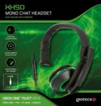 Casque Mono Gioteck XH50 Vert - Xbox One - PS4 - PC - Mobile