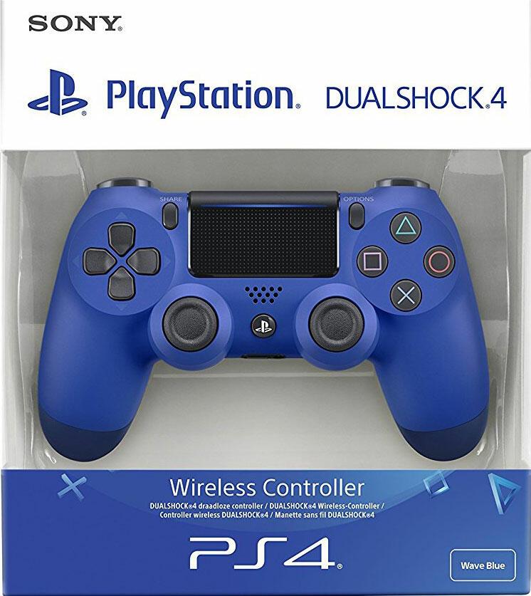 manette dualshock 4 v2 bleu ps4 acheter vendre sur r f rence gaming. Black Bedroom Furniture Sets. Home Design Ideas