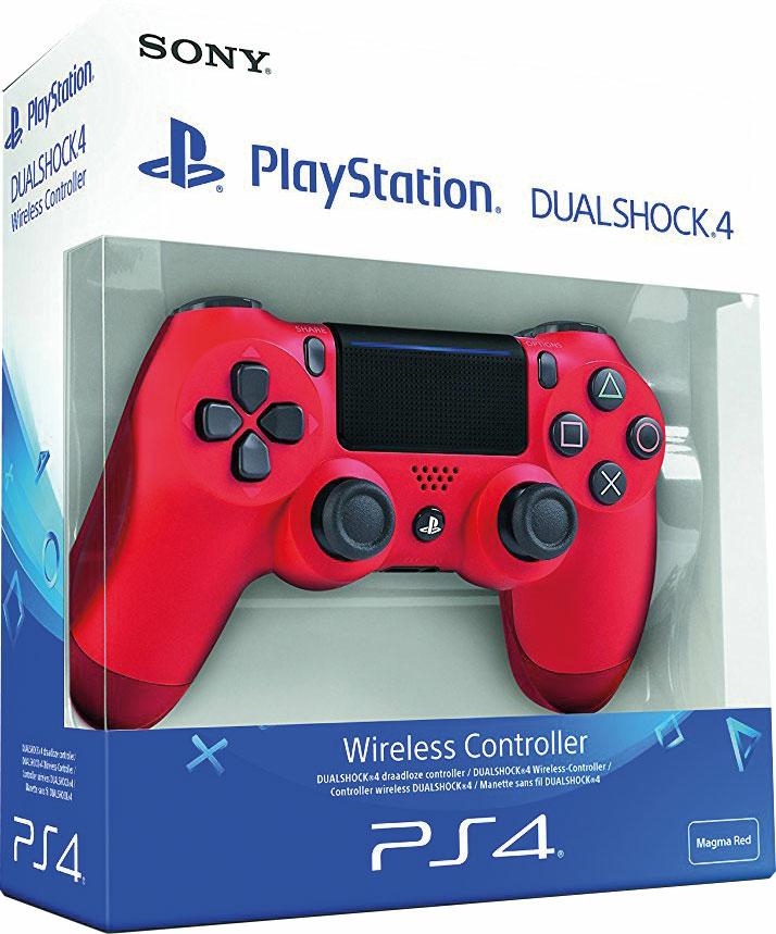 manette dualshock 4 v2 rouge ps4 r f rence gaming. Black Bedroom Furniture Sets. Home Design Ideas